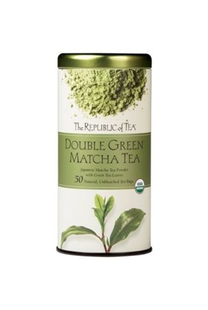 DOUBLE GREEN MATCHA TEA