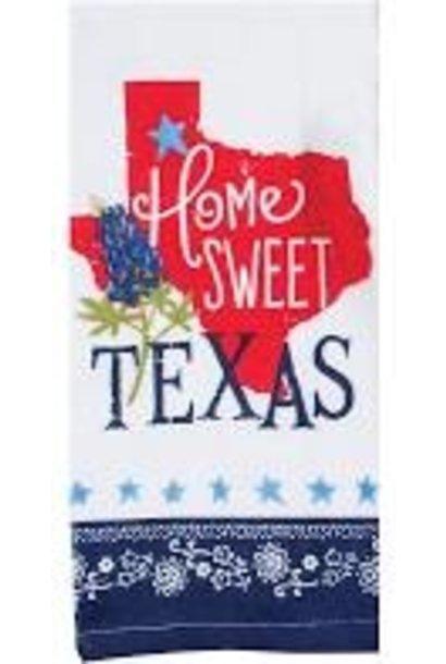 """HOME SWEET TEXAS"" DISH TOWEL"