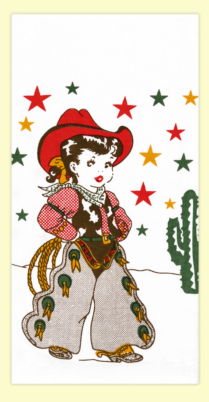 LITTLE COWGIRL TOWEL-1