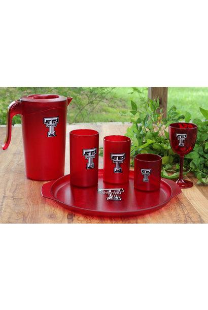 TEXAS TECH  S/8 GLASSES