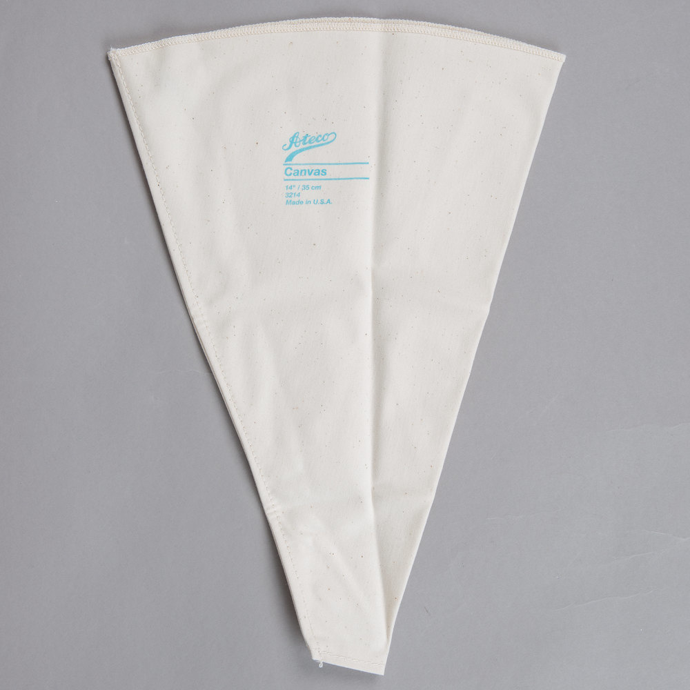 """16"""" CANVAS PASTRY BAG-1"""