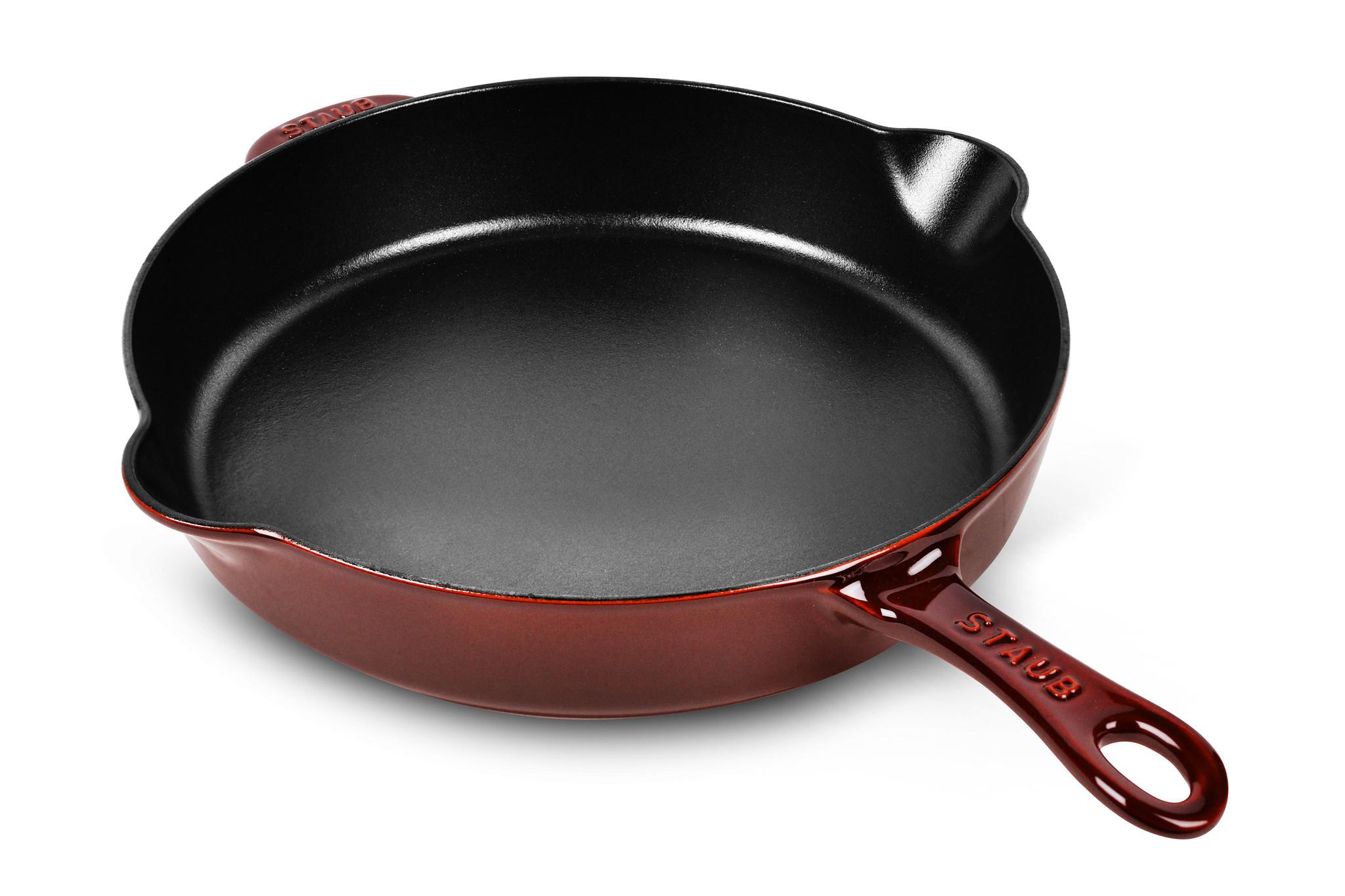STAUB 10 FRY PAN GRENADINE-1
