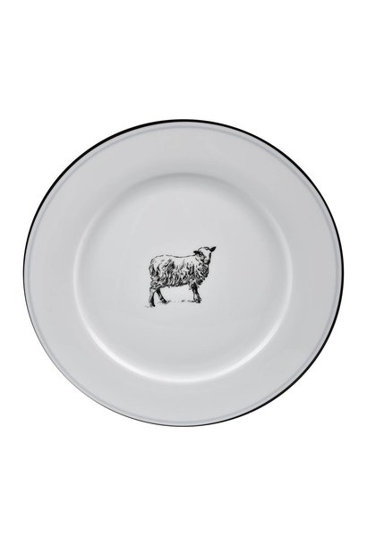 OMNI DINNER PLATE SHEEP