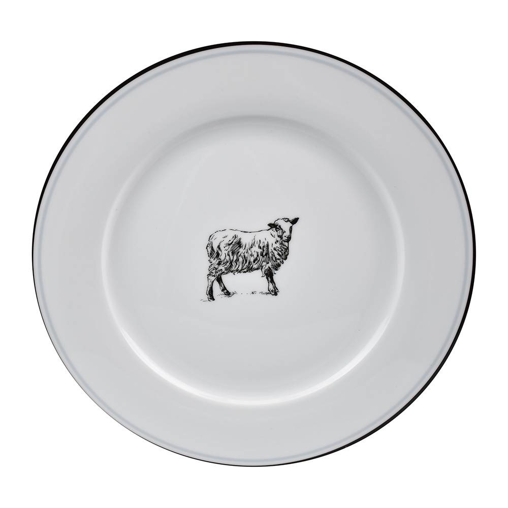 OMNI DINNER PLATE SHEEP-1