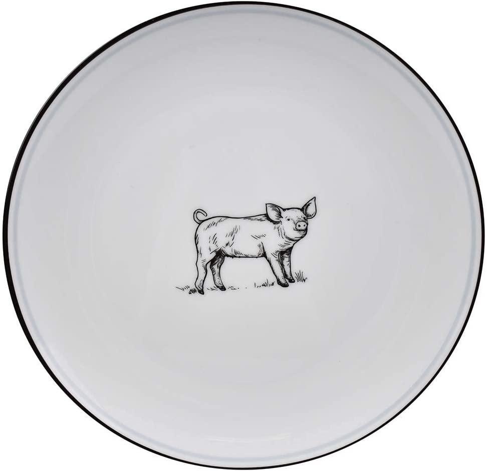 OMNI SALAD PLATE PIG-1