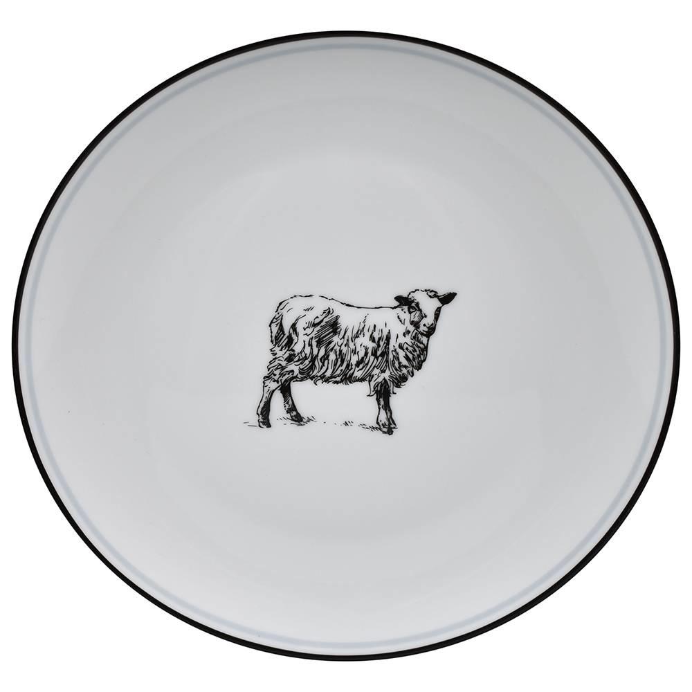 OMNI SALAD PLATE SHEEP-1