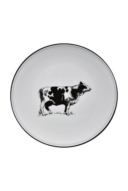 OMNI SALAD PLATE COW