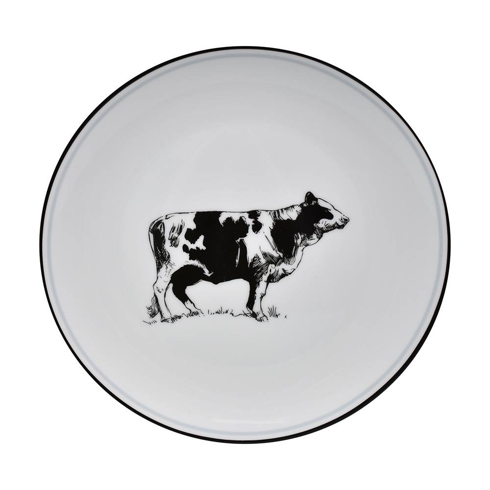 OMNI SALAD PLATE COW-1