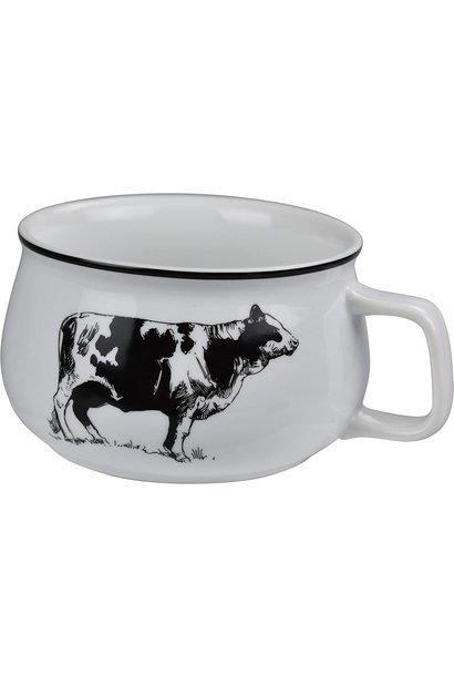 OMNI SOUP MUG COW