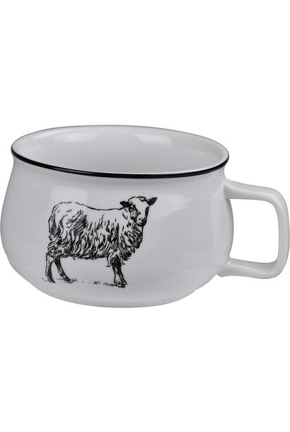 OMNI SOUP MUG SHEEP