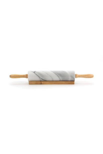 RSVP MARBLE ROLL PIN/STAND