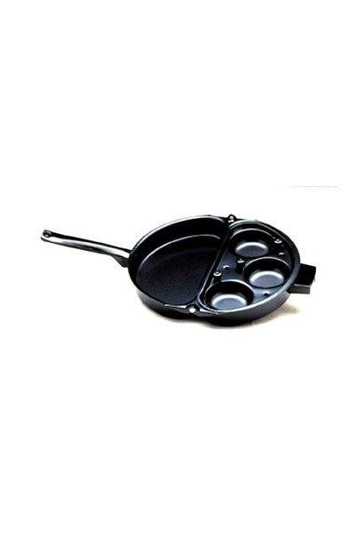 NON-STICK EGG POACHER AND OMELET PAN