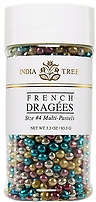 INDIA TREE PASTEL FRENCH DRAGEES - 3.5 OZ-1