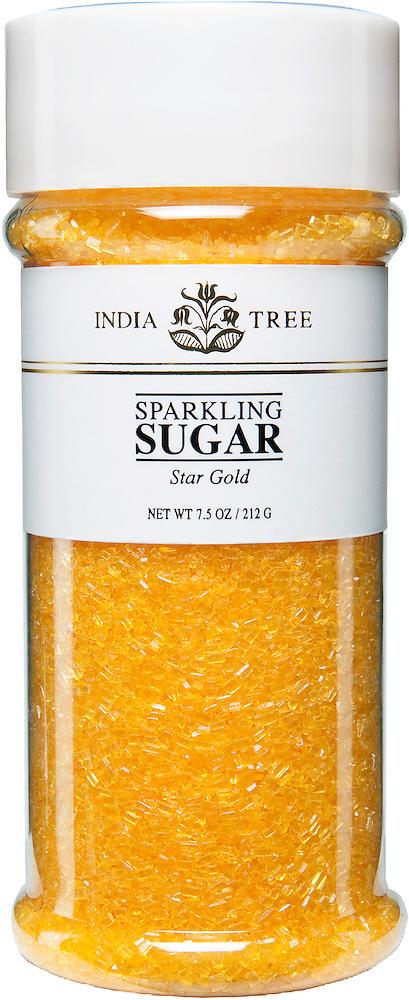 INDIA TREE SPARKLING GOLD SUGAR  3.5 OZ-1