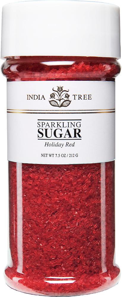 INDIA TREE RED SPARKLING SUGAR - 3.5 OZ-1