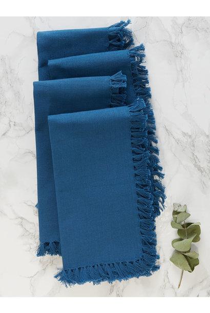 APRIL CORNELL BLUE NAPKINS