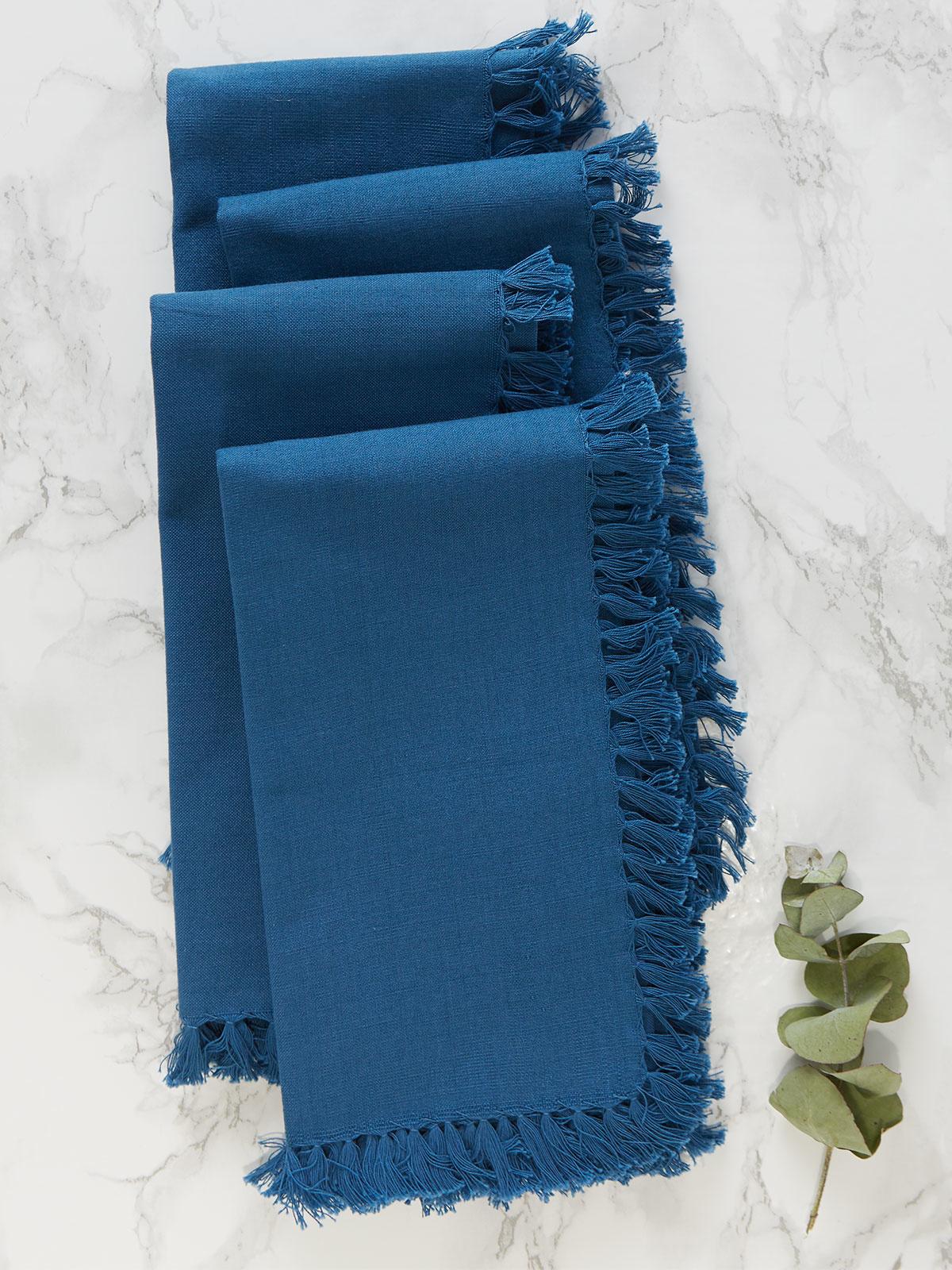 APRIL CORNELL BLUE NAPKINS-1
