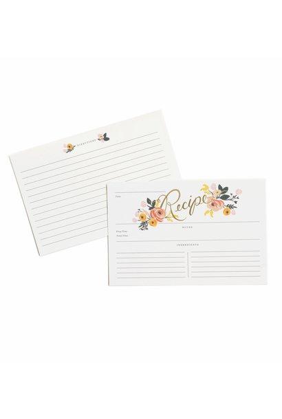 RIFLE PAPER COMPANY'S PEONY RECIPE CARDS
