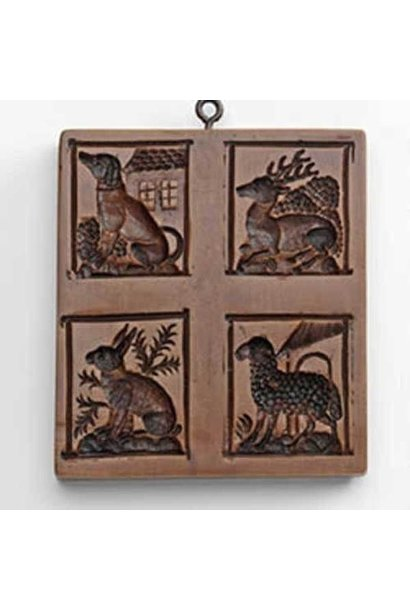 HOUSE ON THE HILL PETTING ZOO COOKIE MOLD