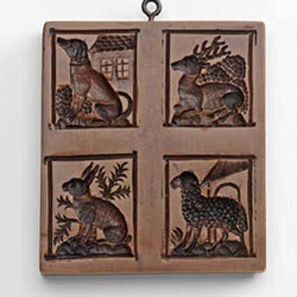 HOUSE ON THE HILL PETTING ZOO COOKIE MOLD-1