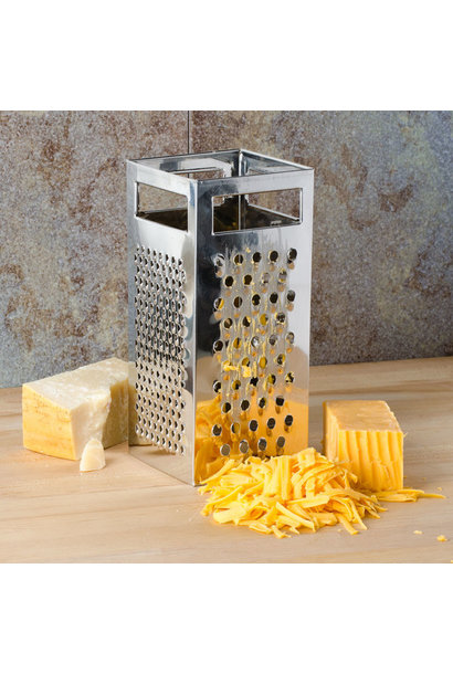 TABLECRAFT STAINLESS STEEL 4 SIDED BOX GRATER