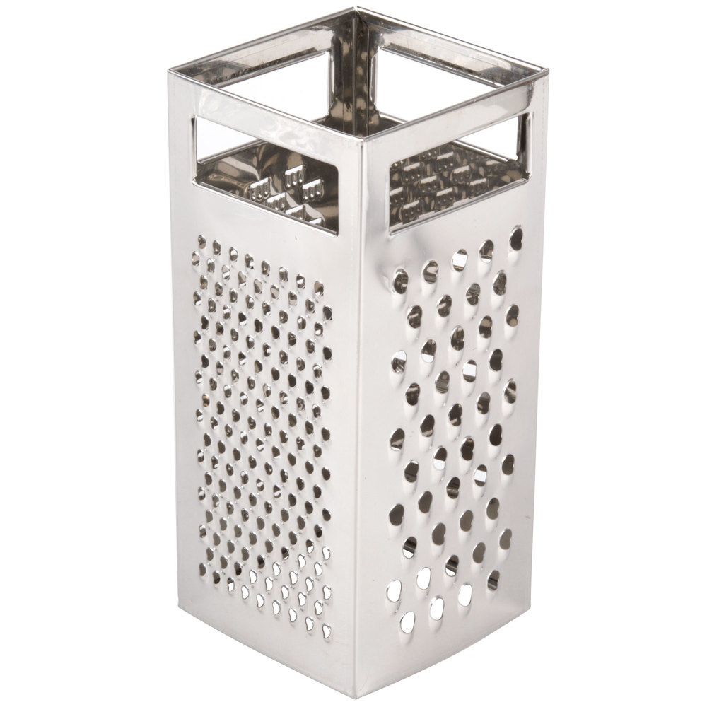 TABLECRAFT STAINLESS STEEL 4 SIDED BOX GRATER-2