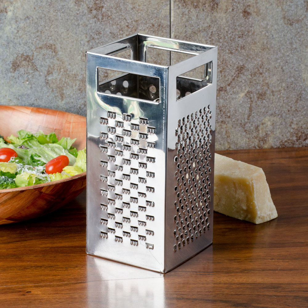 TABLECRAFT STAINLESS STEEL 4 SIDED BOX GRATER-3