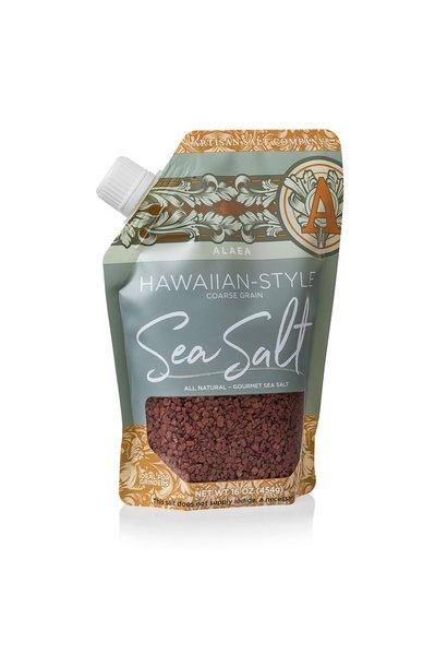 SALTWORKS RED HAWIAN SEA SALT (POUCH)