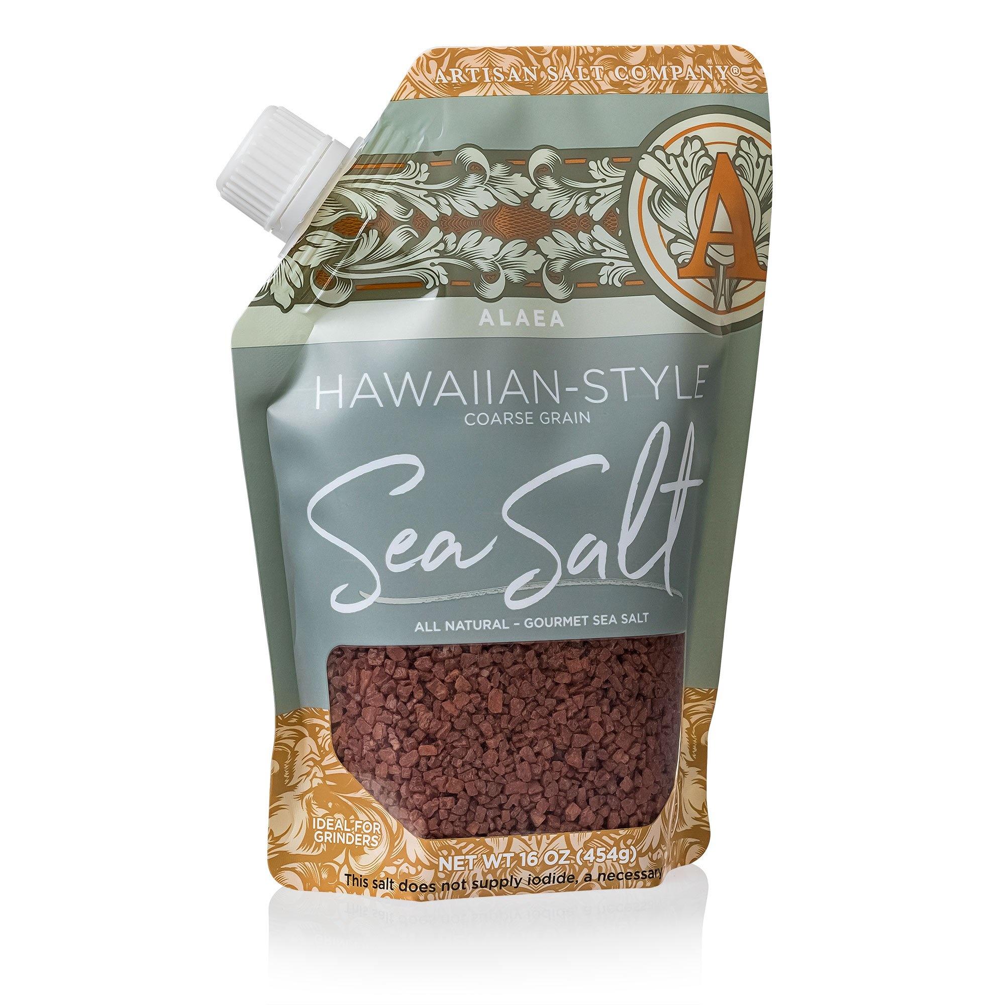 SALTWORKS RED HAWIAN SEA SALT (POUCH)-1