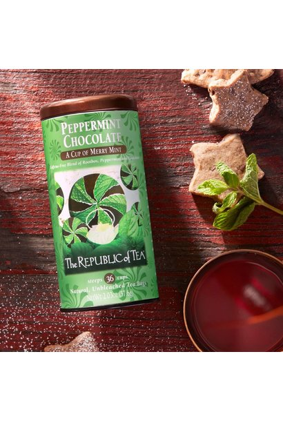 REPUBLIC OF TEA PEPERMINT CHOCOLATE TEA