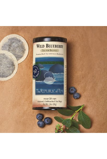 REPUBLIC OF TEA WILD BLUEBERRY