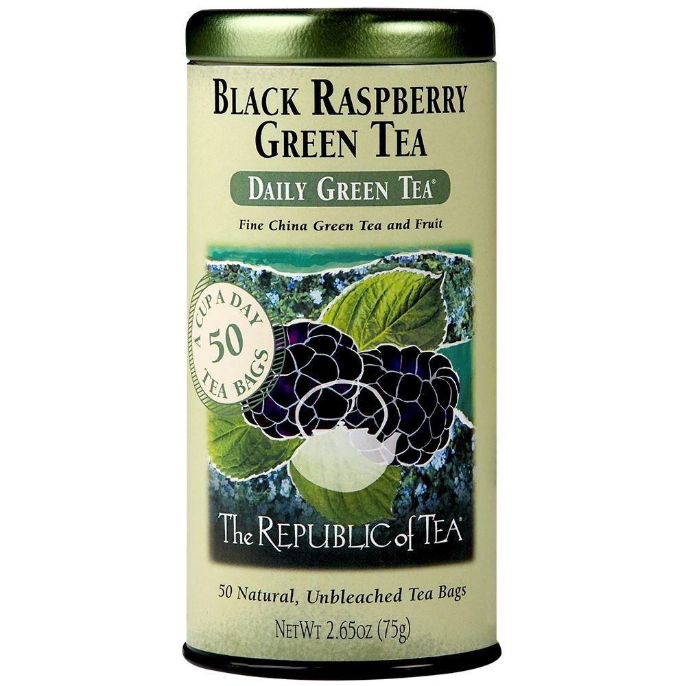 REPUBLIC OF TEA BLACK RASPBERRY GREEN TEA-1