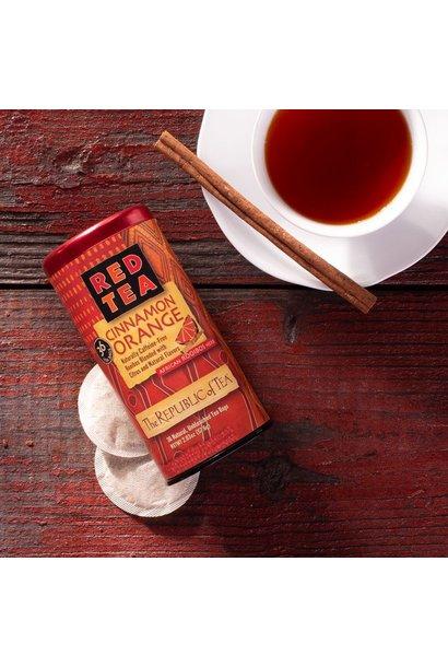 REPUBLIC OF TEA RED CINNAMON ORANGE TEA