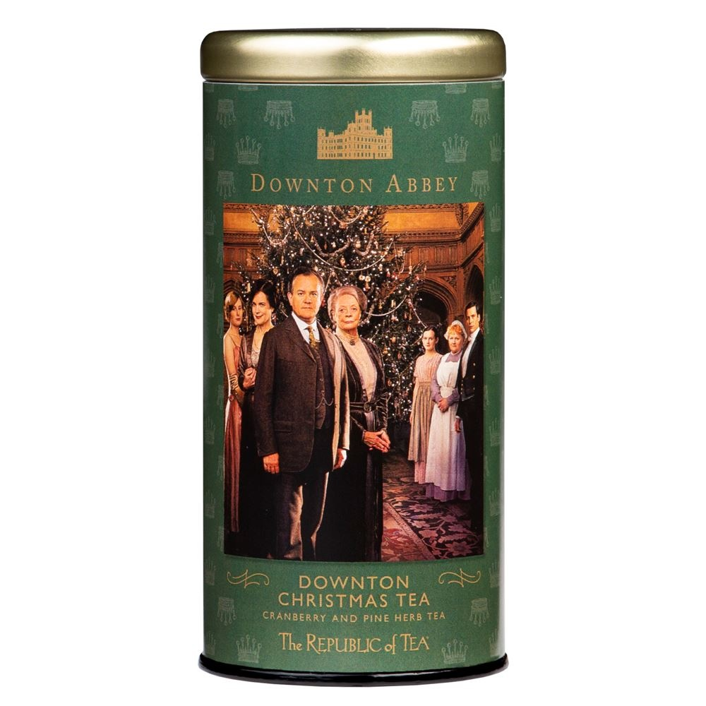 REPUBLIC OF TEA DOWNTON CHRISTMAS TEA-1