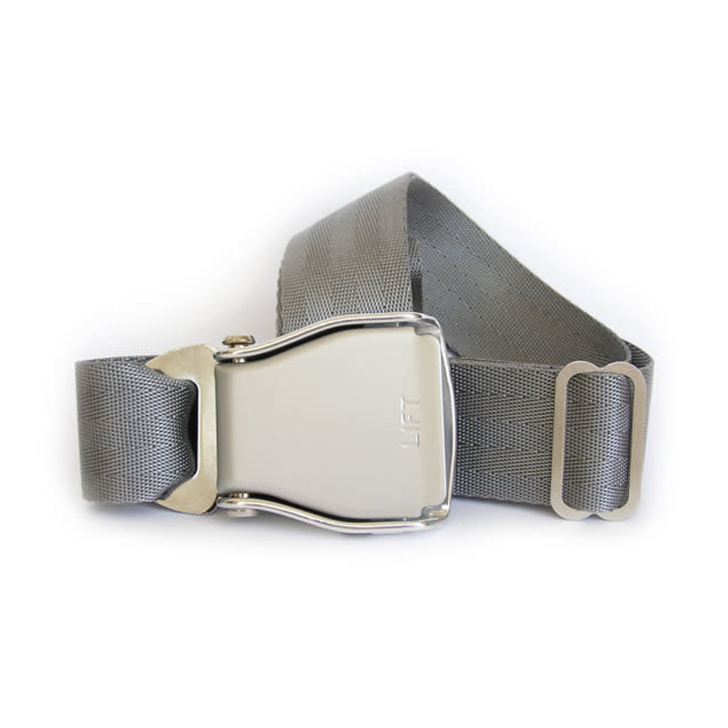 SkyBelt w/buckle Osaka- Silver Grey