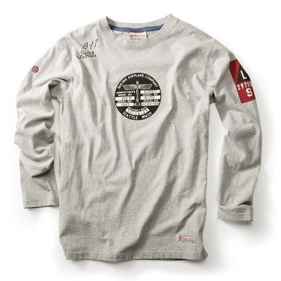 B17 Long Sleeve T-shirt Grey