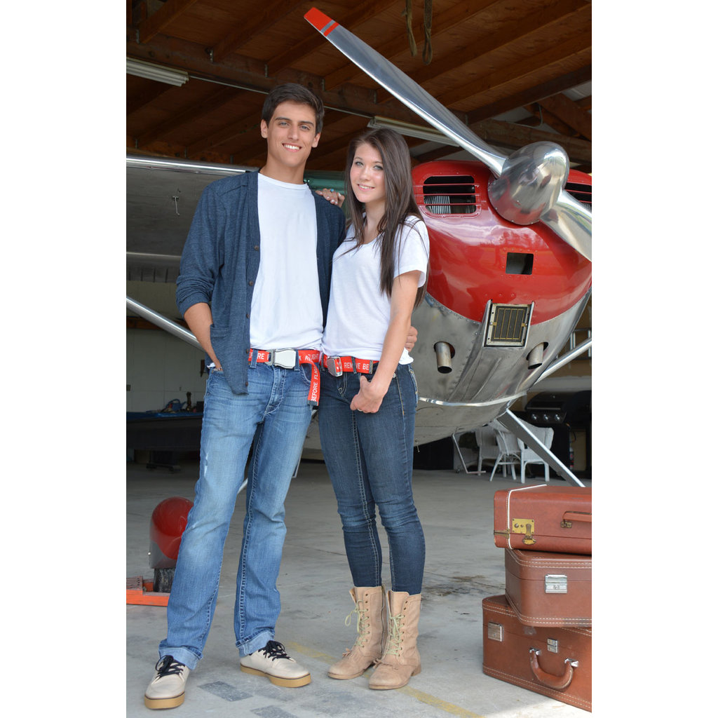 Skybelt w/buckle Remove Before Flight