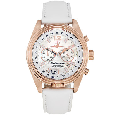 Aviator Watch Katherine in Rose Sun