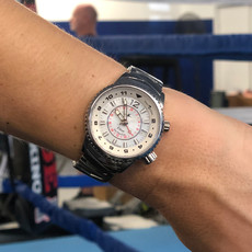 Aviator Watch Elise in Athenian Sterling