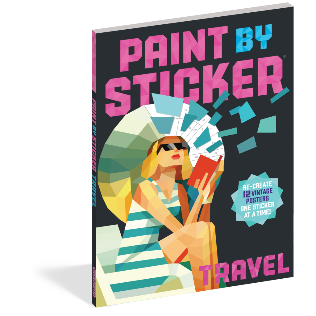 Paint by Sticker: Travel