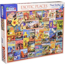 Exotic places 1000 Pc puzzle