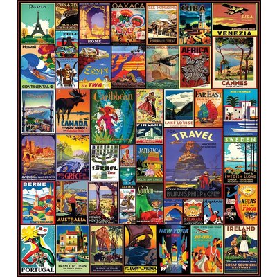 Travel the World 550 Pc puzzle