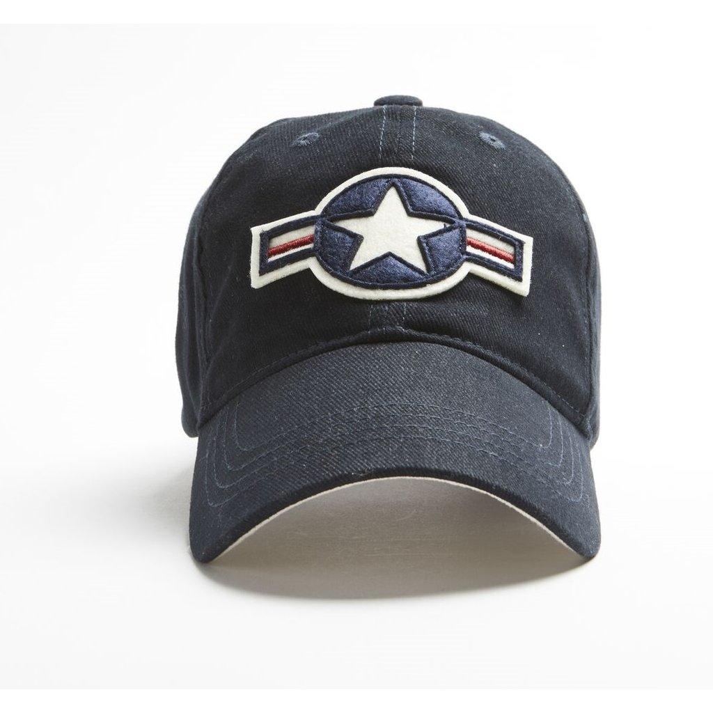 US Stripes Cap-Navy