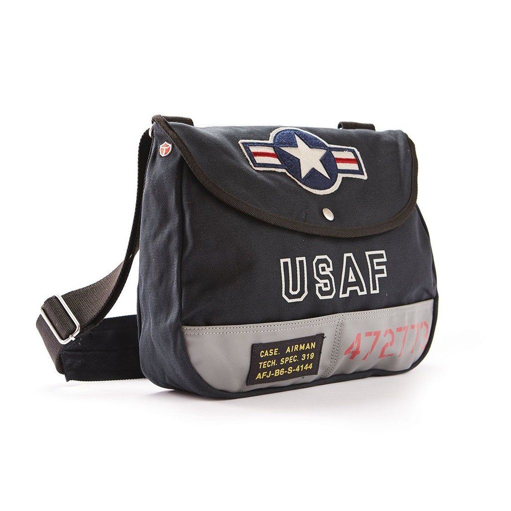 USAF Shoulder Bag-Navy