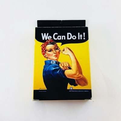 Rosie the Riveter Playing Cards