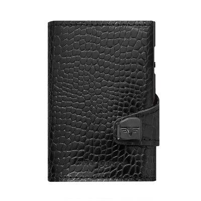 Tru Virtu Leather Line Croco Black