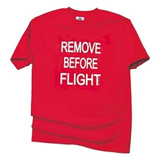 Remove Before Flight Mens T-shirt