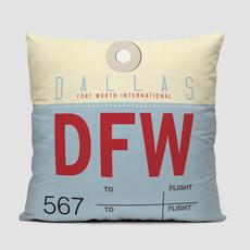 DFW Pillow Cover