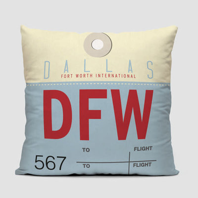 DFW Pillow Cover
