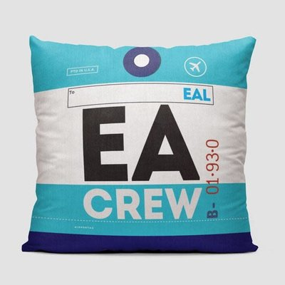 EA Crew Tag Eastern Pillow Cover